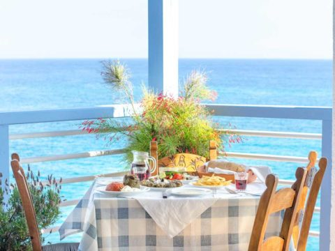 Enjoy the view with delicious food